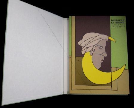 Libro Illustrato Adami - Adami - Derrière Le Miroir N°239 De Luxe.