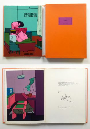 Libro Illustrato Adami - ADAMI. Derrière le Miroir n° 188. Nov. 1970. TIRAGE DE LUXE SIGNÉ.