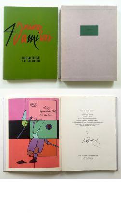 Libro Illustrato Adami - ADAMI. Derrière le Miroir n° 206. Nov. 1973. TIRAGE DE LUXE SIGNÉ.