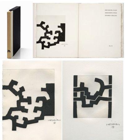 Libro Illustrato Chillida - ADORACION. Funeral Mal, I. (José-Miguel ULLAN - Marguerite DURAS (1977).