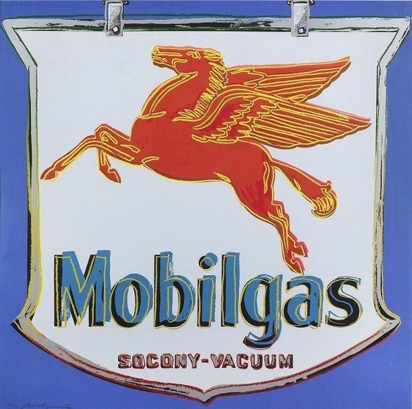 Serigrafia Warhol - Ads: Mobilgas