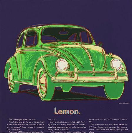 Serigrafia Warhol - ADS: VOLKSWAGEN FS II.358