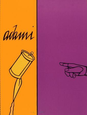 Litografia Adami - Aff Avt N° 155