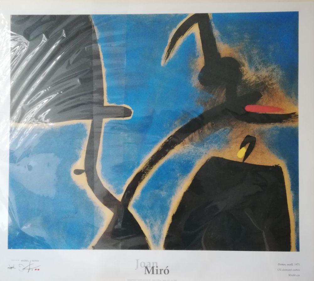 Offset Miró - Affiche