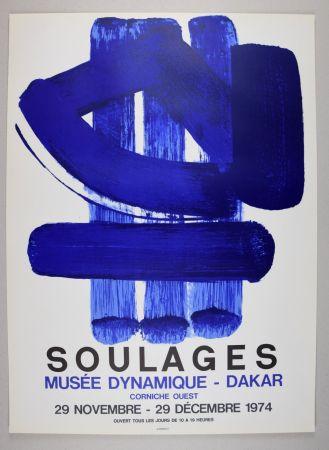 Litografia Soulages - AFFICHE DAKAR