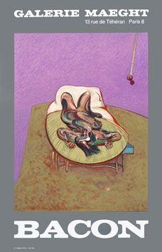 Manifesti Bacon - Affiche en lithographie