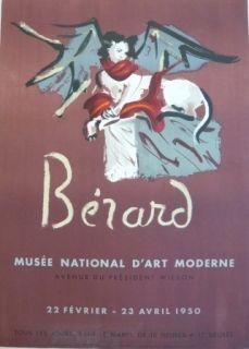 Litografia Berard - Affiche exposition Musée d'art moderne Mourlot