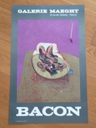 Manifesti Bacon - Affiche Galerie Maeght
