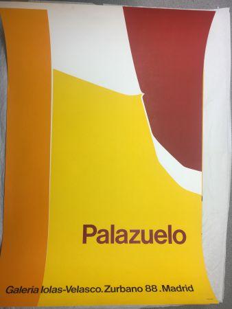 Manifesti Palazuelo - Affiche lithographique originale de la Galeria Iolas-Velasco, Madrid. Maeght 1963.