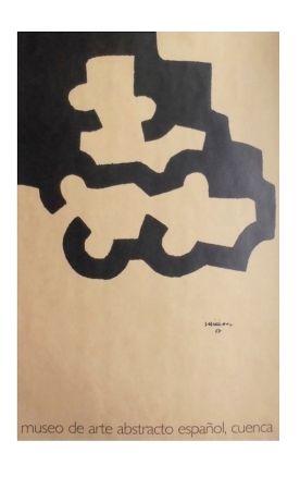 Litografia Chillida - Affiche Museum Cuenca