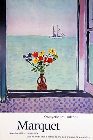 Offset Marquet - Affiche Orangerie de tuilleries
