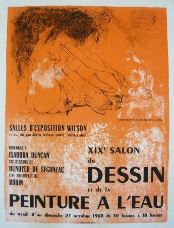 Manifesti Jansem - Affiche salon du dessin et de la peinture à l'eau