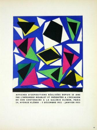 Litografia Matisse - Affiches D'Expositions