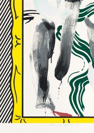 Litografia Lichtenstein - Against Apartheid
