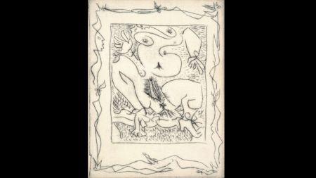 Libro Illustrato Masson - AINSI DE SUITE (Pierre-André Benoit. 1960). 6 gravures érotiques.