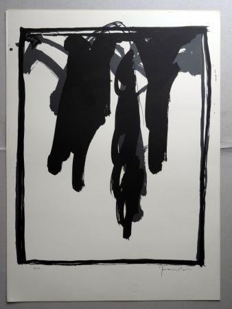 Litografia Hernandez Pijuan - A.L. Barcelona-III