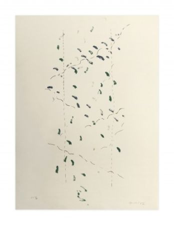 Litografia Hernandez Pijuan - A.L. Osaka (avant-la-lettre Osaka)