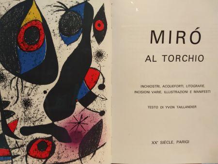 Libro Illustrato Miró - Al Torchio
