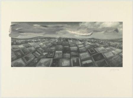 Litografia Perejaume - A.l.barcelona 2000