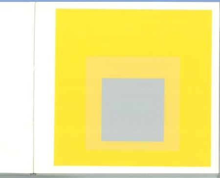 Serigrafia Albers - Albers - Homages to the Suare als Wechselwirkung der Farbe