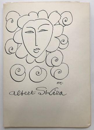 Libro Illustrato Matisse - Albert Skira - Vingt ans d'activité (1948)