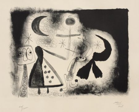 Litografia Miró - Album 13 – Plate V
