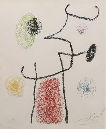 Litografia Miró - Album 21: One Plate