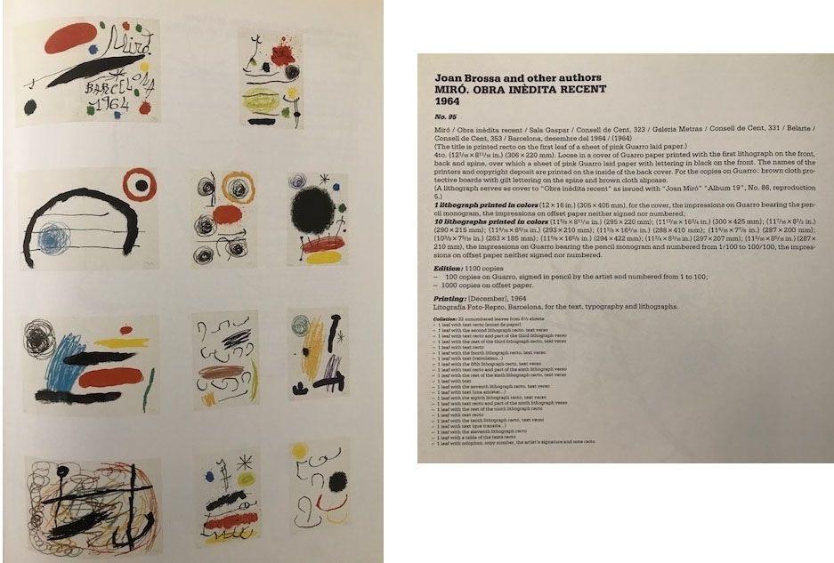 Non Tecnico Miró - Album complet Obra inedita recent (1964)