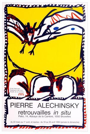 Manifesti Alechinsky - Alechinsky/Edtions Atelier Clot