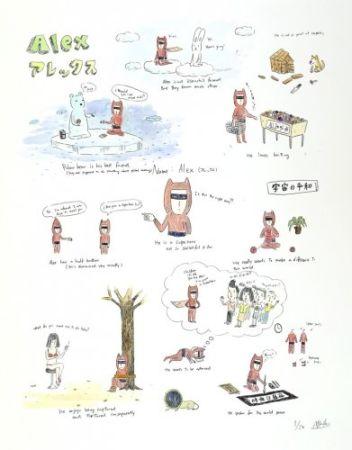Litografia Kaga - Alex