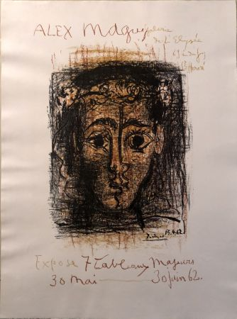 Non Tecnico Picasso -  Alex Maguy Expose 7 Tableaux Majeurs -