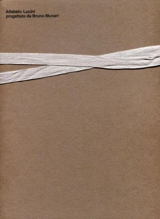 Libro Illustrato Munari - Alfabeto Lucini