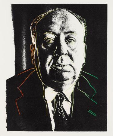 Serigrafia Warhol - Alfred Hitchcock
