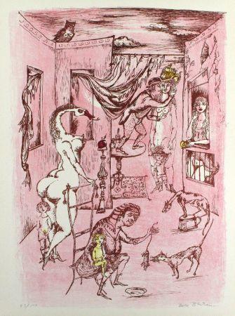 Litografia Bachem - Alternde Paris Zum Muttertag