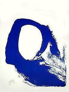 Litografia Jenkins - Amadeus in blue n° 1
