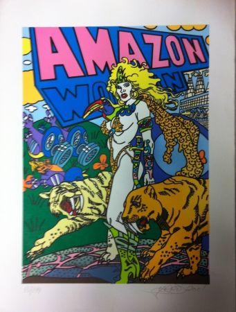 Litografia Erro - Amazone