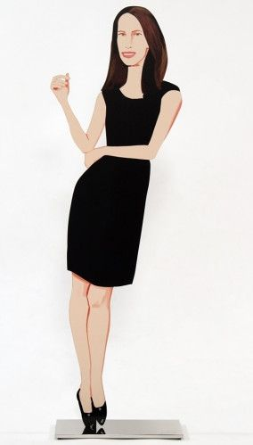 Multiplo Katz - American Christy (from Black Dress cut-out series)