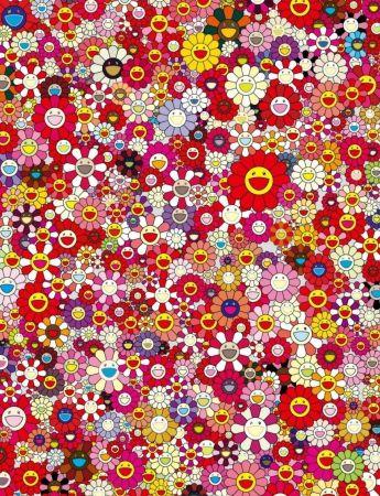 Litografia Murakami - An Homage to Monopink, 1960