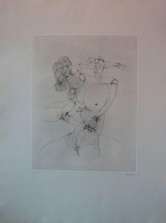Incisione Bellmer -  Anatomie De L'image