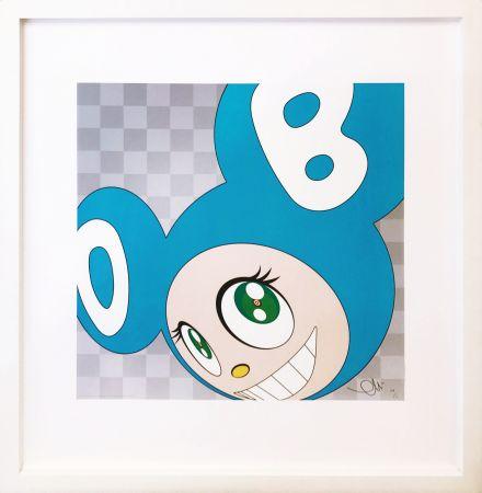 Litografia Murakami - AND THEN . . . (AQUA BLUE)