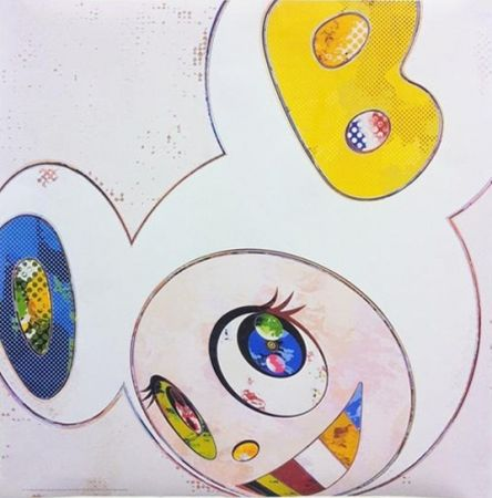 Multiplo Murakami - And Then x 6 - White with Blue and Yellow ears