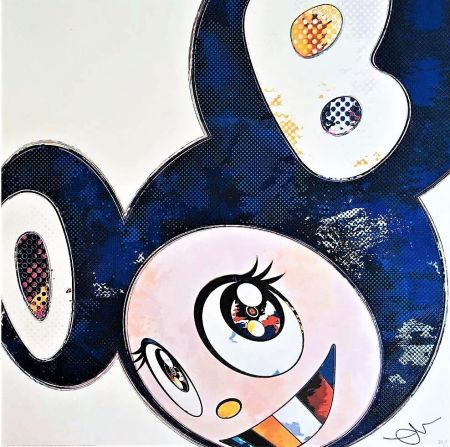 Litografia Murakami - And Then...(Blue)