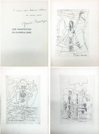 Libro Illustrato Matta - André Breton : Les Manifestes du Surréalisme suivis de Prolégomènes à un troisième manifeste du surréalisme ou non. Avec 3 pointes-sèches de Matta