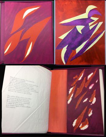 Libro Illustrato Bazaine - André Frénaud : L'ÉTAPE DANS LA CLAIRIÈRE (1995)