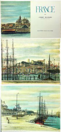 Libro Illustrato Carzou - André Maurois : FRANCE (1959)