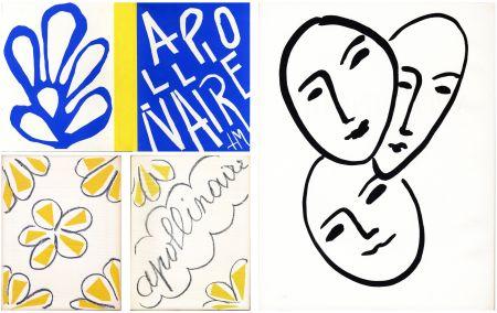 Libro Illustrato Matisse - André Rouveyre : APOLLINAIRE. 7 lithographies et 1 gravure originales (1952)..