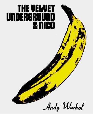 Litografia Warhol - Andy Warhol 'The Velvet Underground & Nico' 1967 Plate Signed Original Pop Art Poster with COA