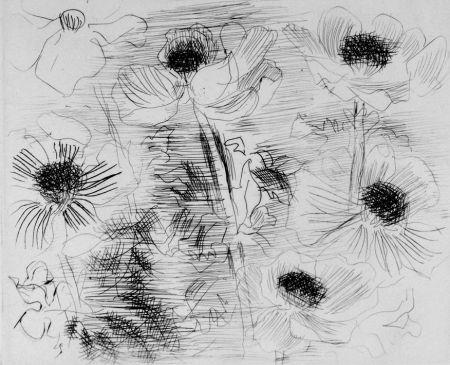 Acquaforte Dufy - Anemones