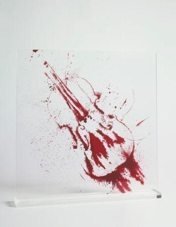 Serigrafia Arman - Angry violin