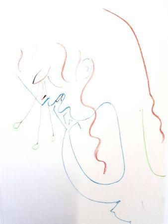 Litografia Cocteau - Antigone